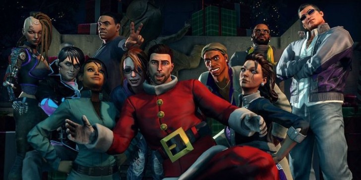 Saints Row 4's How the Saints Save Christmas DLC receives new achievements