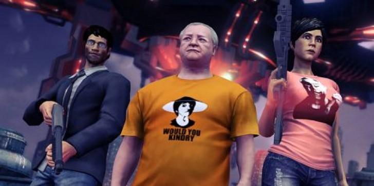 Papa, Ashley, and Anthony Burch Hit Saints Row 4 as DLC