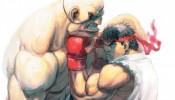 Street Fighter Print: Ryu V Sagat