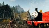 Skyrim Thomas the Tank Engine Mod
