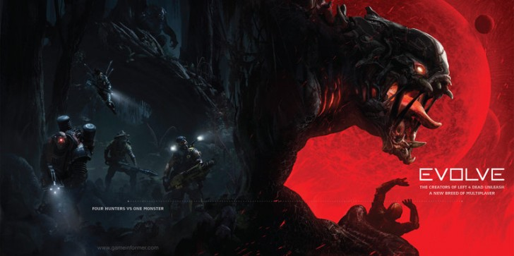 Turtle Rock Studios Shows Off Evolve in Latest Issue of Game Informer