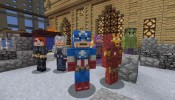 Minecraft Marvel Heroes