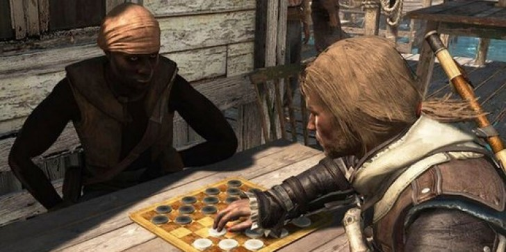 Assassin's Creed 4: Black Flag's In-game Checkers 'Is the Perfect Way to Take Your Mind Off of the Murderous Mayhem,' says Ubisoft