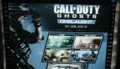 Call of Duty: Ghosts Onslaught DLC Poster