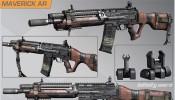 Call of Duty: Ghosts Onslaught DLC Maverick Assault Rifle