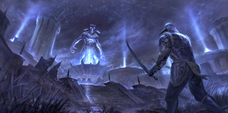 Bethesda Calls in the Big Guns for The Elder Scrolls Online - Malcolm McDowell, Kate Beckinsale, and More