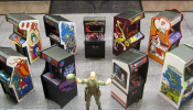 Pint-Sized Arcade Cabinets