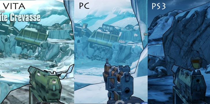 Let's See Just How Good Borderlands on Vita Can Be With a Graphics Comparison, Shall We?