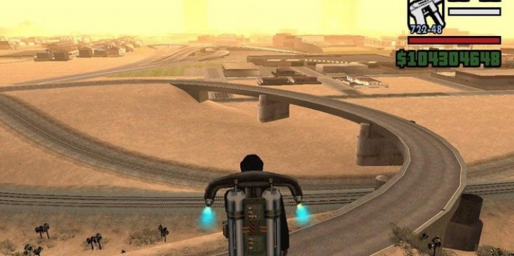 Game Code Points to GTA V Possibly Getting Jetpack