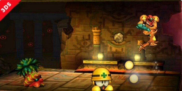 Super Smash Bros. Pic of the Day Shows off Zelda and Mega Man Enemies