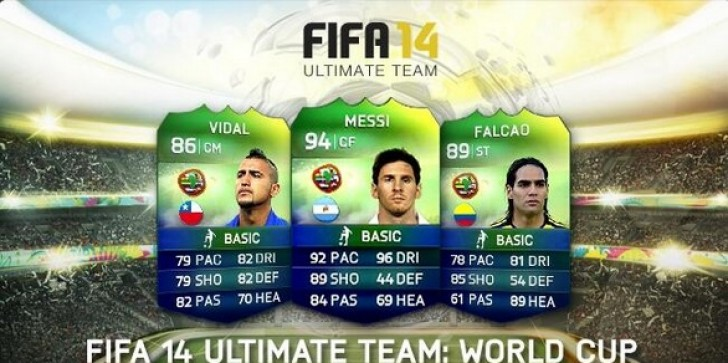 FIFA 14 Ultimate Team World Cup Mode Announced: Free Update Coming For FUT Featuring National Team Players, Kits, And Tournaments