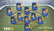 FIFA 14 Combined TotS