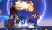 Super Smash Bros Ike Eruption