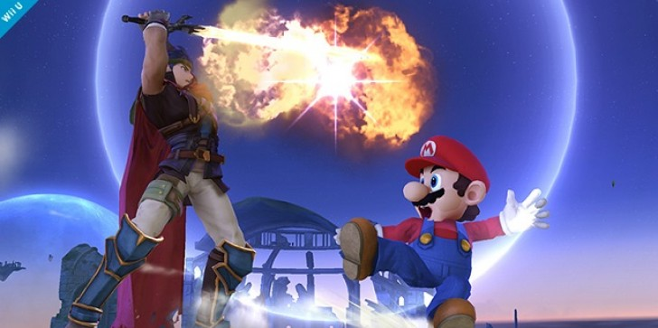 Super Smash Bros Pic of the Day Displays Ike's Powerful Eruption Attack