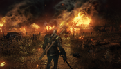 Witcher 3 Fire Screen