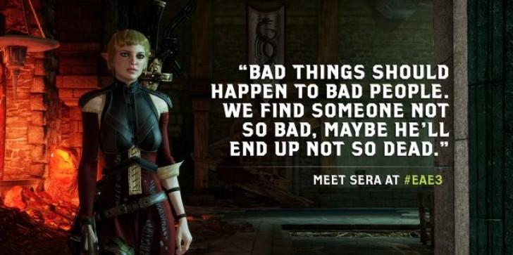 'Dragon Age Inquisition': Meet Sera, The Elven Archer Rogue