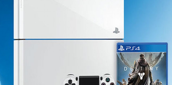 Pristine White PS4 Coming This Fall Alongside Destiny