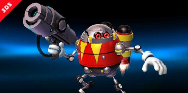 Pic of the Day Reveals Dr. Eggman's Eggrobo Enemy For Smash Run Mode