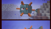 Minecraft Guardian Mob