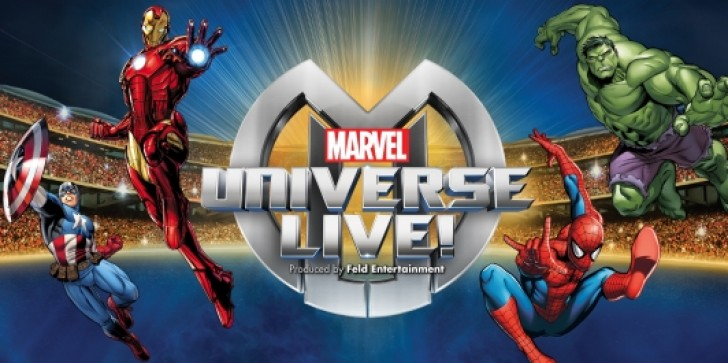 Marvel Universe LIVE Is The Most Spectacular Comic Book Show On Earth; A Ten Ring Circus Spectacular!