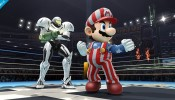 Super Smash Bros White Samus America Mario