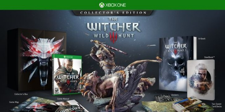 The Witcher 3 Xbox One Collector's Edition Will Contain Exclusive Physical Card Game- Sorry PS4 Fans