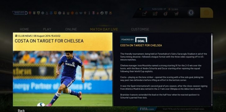 Roundup Of FIFA 15 News From Gamescom Including Updated Pro Clubs, EASFC, And Real-Life Match Day News