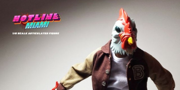 People Really Like Tiny Violent Maniacs: Hotline Miami Statuette Kickstarter Runs Out!