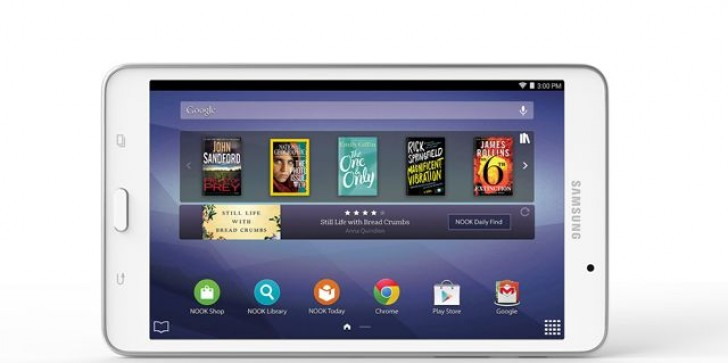 Barnes & Noble Back In The Tablet Game With New, Larger Model Of Samsung Galaxy Tab 4 Nook