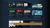 New Steam UI