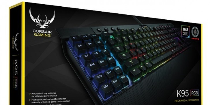Corsair Launches Line Of High-End Keyboards, Headsets And A Mouse Under New Gaming Brand