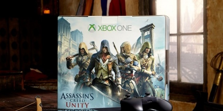 Assassin's Creed Xbox One Bundles Announced, Offered With Or Without Kinect And Include Unity And Black Flag