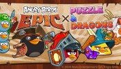 Angry Birds Epic X Puzzle And Dragons