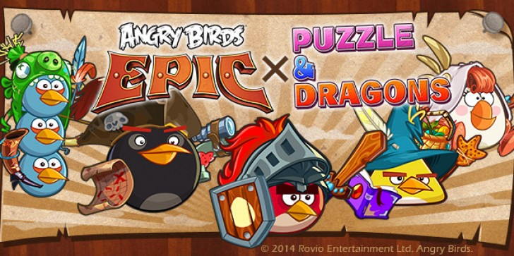 Angry Birds Epic X Puzzle And Dragons Collab: Partnering Up Two Wildly Successful Mobile Franchises