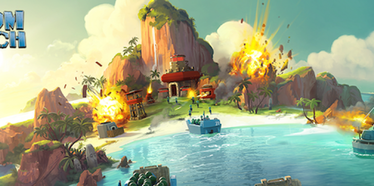 The Boom Beach Update Invades Your Mobile Device Like Its Assaulting France: Task Forces, UI Changes And Dr Terror Buffs Come With It