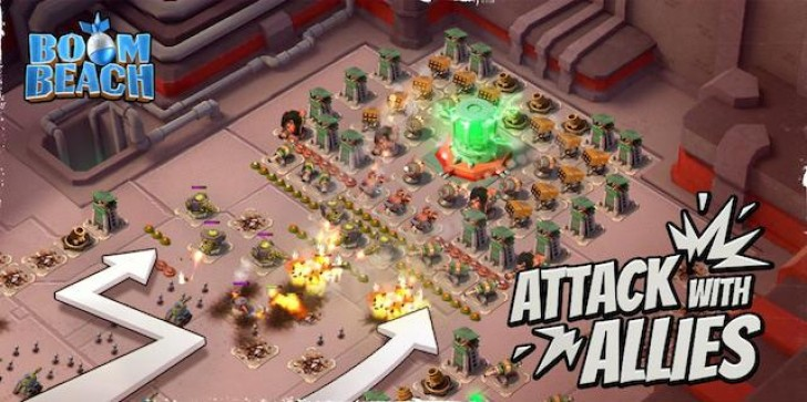 Boom Beach Update Lets Your Whole Task Force Assault The Same Base!