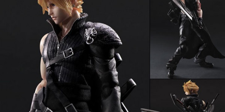 New Play Arts Final Fantasy VII: Advent Children Movie Collectibles On Sale In December: Cloud, Tifa, Barret And Red XIII