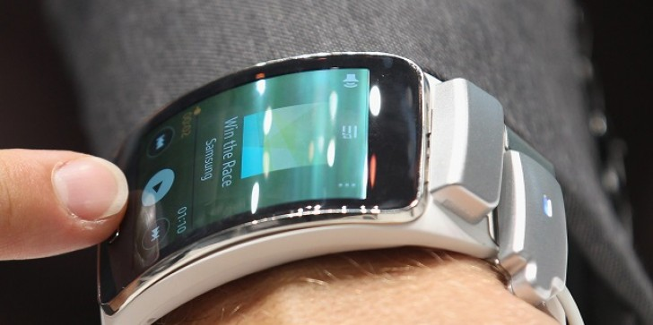 Samsung Gear S Smartwatch Launching November 7, Fancy Curved OLED Screen And Cellular Service Look To Be Pricey