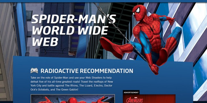 Marvel Revamp's Its Kid-Friendly Website, Adds Tons Of Additional Spider-Man Content