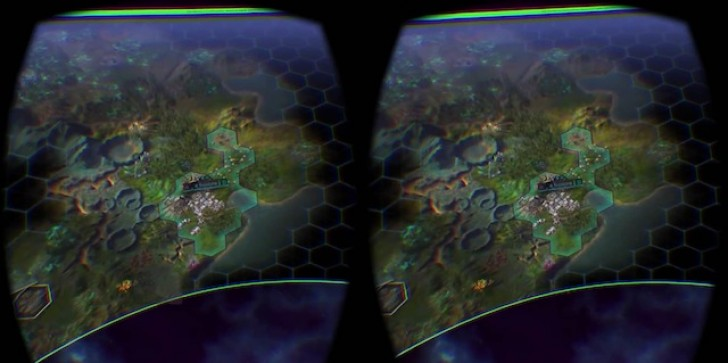 See Civilization: Beyond Earth Being Played On A Screen 5K Pixels Wide Thanks To An Oculus Rift DK2