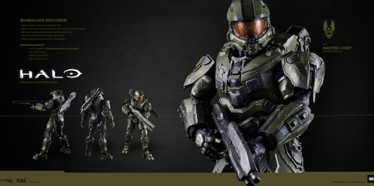Continue The Fight With This Master Chief Figure, On Sale Next Week. The Perfect Gift For Any Halo Fan In Your Life