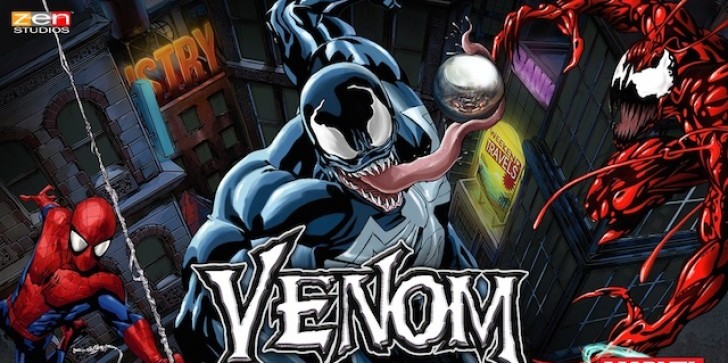 The Symbiote Takes Control Of Zen Pinball; Venom Arrives On All Platforms In Two Weeks Alongside Spidey And Carnage