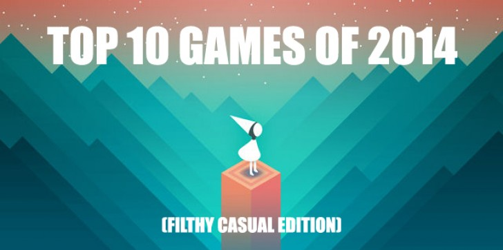 Steve's Top 10 Games Of 2014: The Filthy Casual Edition