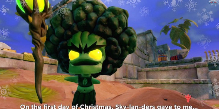 On The First Day Of Christmas, Skylanders Gave To Me...The Twelve Days Of Christmas, Skylanders Style [SCREENS]