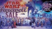 Star Wars Farewell Sale