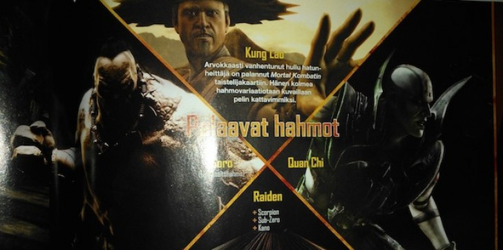 Kung Lao Gets Old. Behatted Mortal Kombat X Warrior Detailed In Finnish Game Magazine