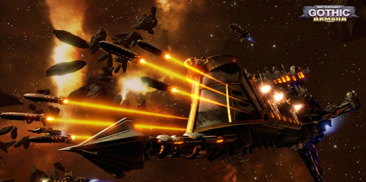 Oh, You Wanted Another Warhammer 40,000 Game? Here's Battlefleet Gothic: Armada!