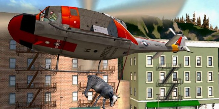 Goat Simulator Updated With Video Recording Feature