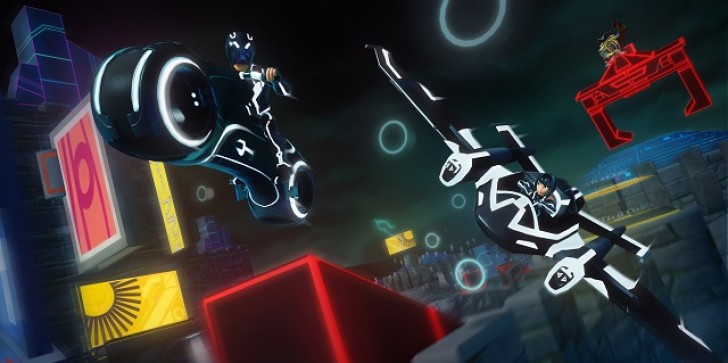 Two TRON Characters Break Free Of The Grid And Land In Disney Infinity 2.0 Via The iOS App