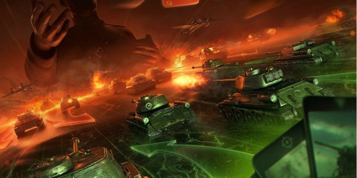 New CCG World Of Tanks Generals Comes To iOS; Sign Up Now For The Closed Beta On iPad